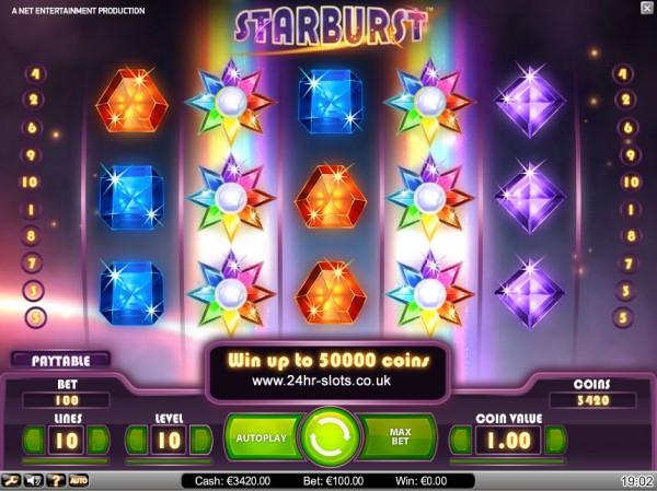 Starburst-mobilbet