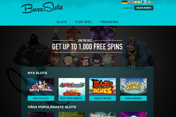 BuzzSlots Screenshot