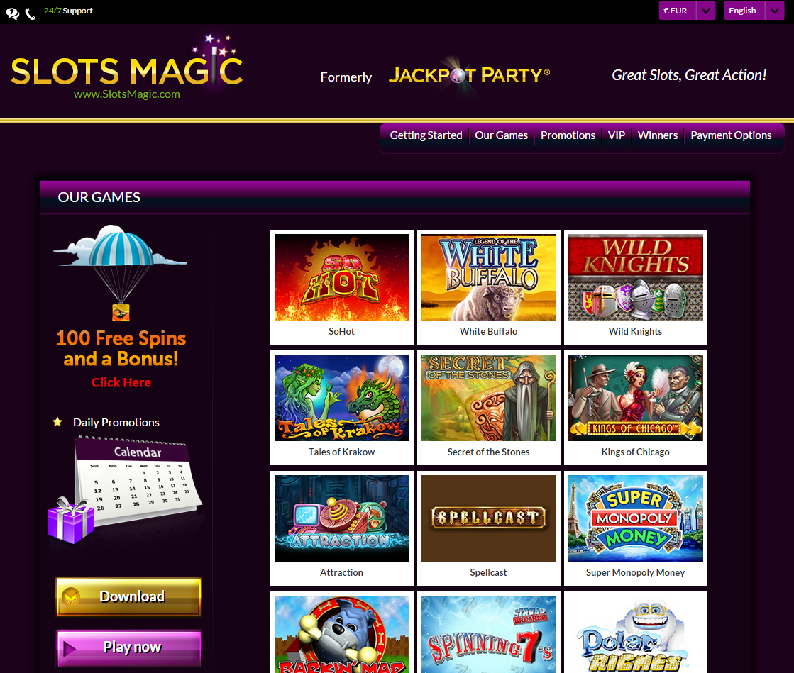 Slots Magic Casino Screenshot