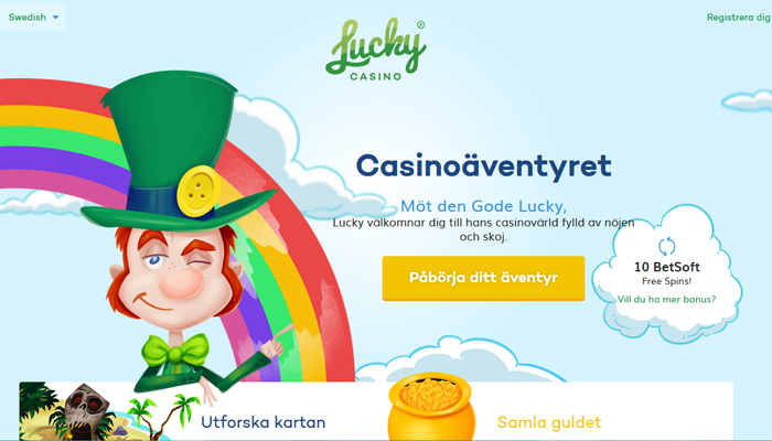 LuckyCasino Screenshot