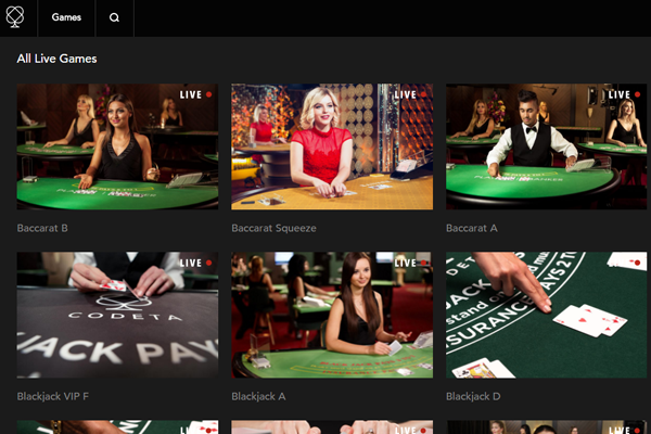 Codeta Casino Screenshot